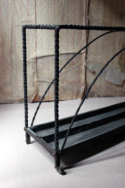 Large 19thC Country House Wrought Iron Stick Stand-doe-and-hope-largeironstickstand15-main-636669095645424460.jpg