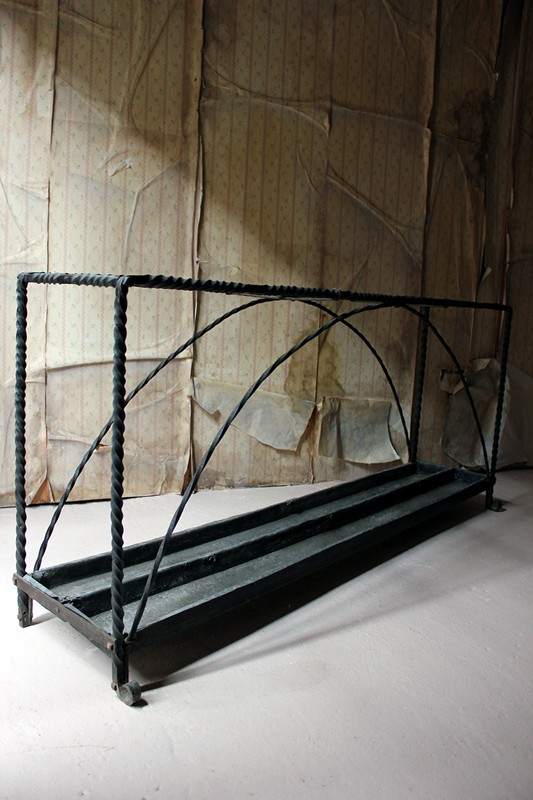 Large 19thC Country House Wrought Iron Stick Stand-doe-and-hope-largeironstickstand23-main-636669095903929716.jpg