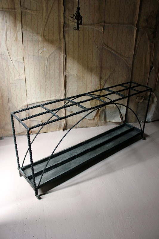 Large 19thC Country House Wrought Iron Stick Stand-doe-and-hope-largeironstickstand24-main-636669095919686524.jpg