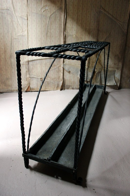 Large 19thC Country House Wrought Iron Stick Stand-doe-and-hope-largeironstickstand26-main-636669096112512412.jpg