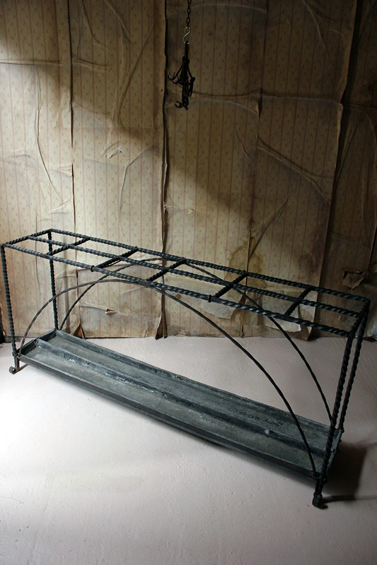 Large 19thC Country House Wrought Iron Stick Stand-doe-and-hope-largeironstickstand40-main-636669096606745756.jpg
