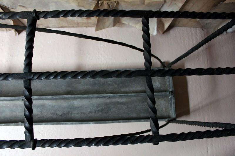 Large 19thC Country House Wrought Iron Stick Stand-doe-and-hope-largeironstickstand8-main-636669094026373436.jpg