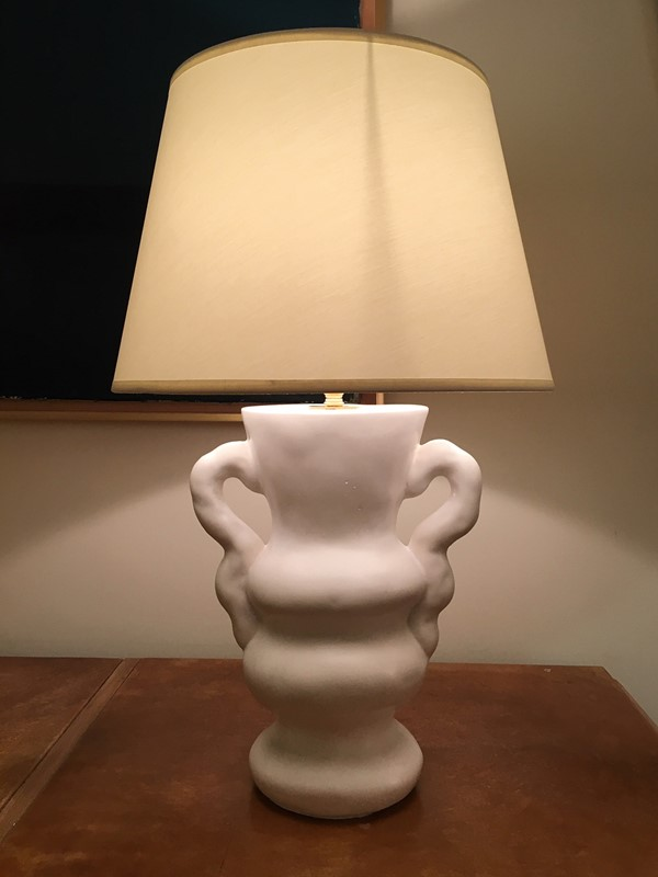 White Plaster Table Lamp, by Dorian -dorian-caffot-de-fawes-antiques-y01-1-main-636804867312766540.JPG