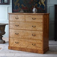 Flame Maple Chest of Drawers