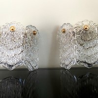 Superb Glass Sconces By Doria
