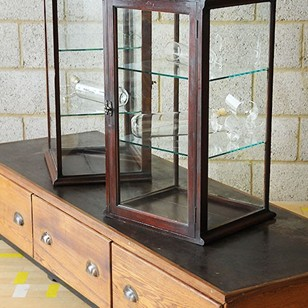 Pair of Display Cases