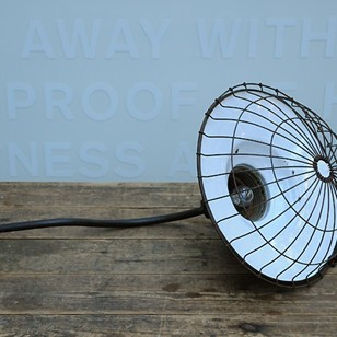 Caged Wall Lamp