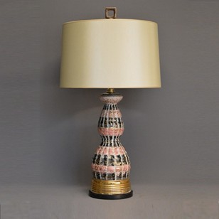 Vintage Single 50's USA table lamp