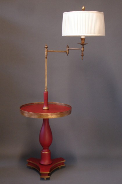 Bespoke table with swing arm light. ANGLAIS.-empel-collections-Anglais table-004_main.JPG