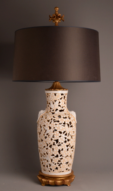 Classic vase lamp with intricate decorations.-empel-collections-Ceramic vase lamp. 23-1-2014 20-23-14_main.JPG