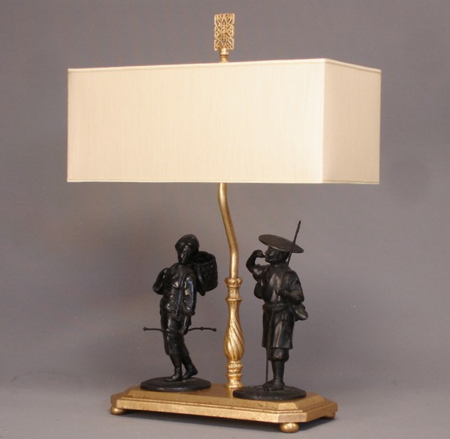 Chinoiserie figurines mounted as table lamp-empel-collections-Chinoiserie figurines mounted as lamp.-001_main.JPG