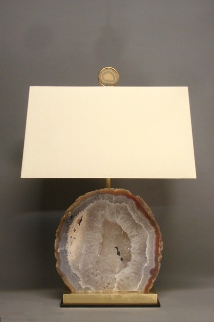 Bespoke made large AGATE specimen table lamp.-empel-collections-Mineral    large agate table lamp_main_636119878774098838.JPG
