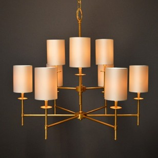Bespoke Mid-century style PALM SPRINGS chandelier