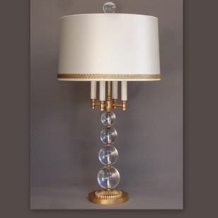 Bespoke Mid Century style bouillotte lamp SOPHIE.