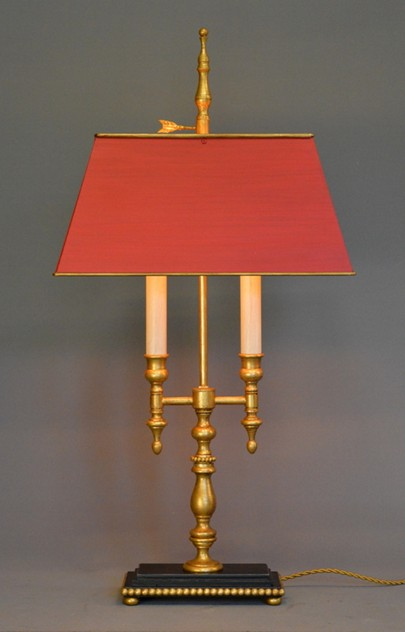 Bespoke two arm bouillotte lamp, St Michel-empel-collections-St Michel bouillotte table lamp-001_main_636371999719558407.JPG