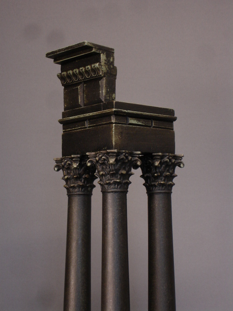 Castor and Pollux temple, three column miniature.-empel-collections-apollo 16-9-2014 17-02-55_main.JPG