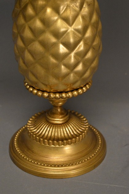 Pair of gold leaf ceramic pineapple lamps-empel-collections-ceramic pineapple table lamp-008_main_636528395179096414.JPG