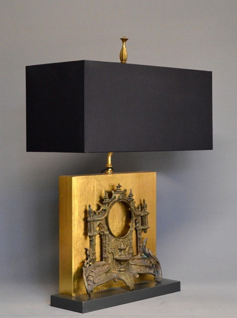 Antique clock front mounted as lamp-empel-collections-clock facade front table lamp-002_main_636378929683817672.JPG