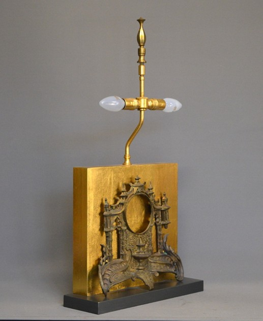 Antique clock front mounted as lamp-empel-collections-clock facade front table lamp-003_main_636378929740136560.JPG