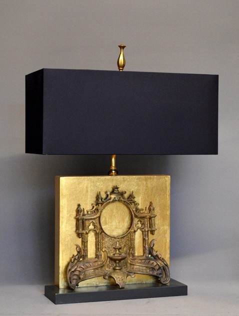 Antique clock front mounted as lamp-empel-collections-clock facade front table lamp_main_636378929805971936.JPG