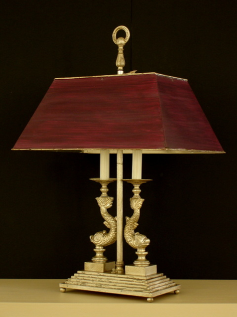 Bespoke DOLPHIN desk'/ table lamp.-empel-collections-double dolphin table lamp. 008_main.jpg