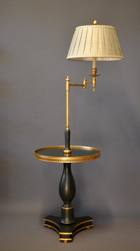 Bespoke table with swing arm light. ANGLAIS.-empel-collections-emilia  anglais-main-636691695710283708.JPG