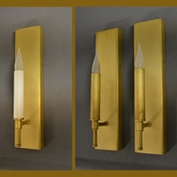 Mid century inspired bespoke wall lamp CARRON