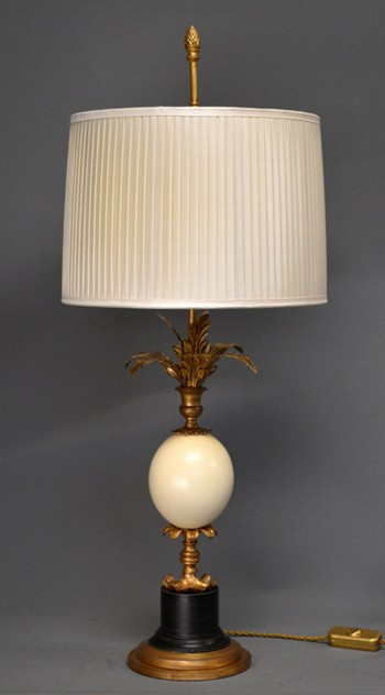 Bespoke OSTRICH egg table lamp. -empel-collections-ostrich egg lamps-001_main_636258074024440370.JPG