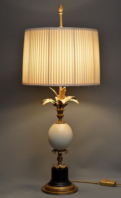 Bespoke OSTRICH egg table lamp. -empel-collections-ostrich egg lamps_main_636258073943160202.JPG