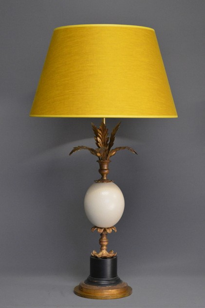 Bespoke OSTRICH egg table lamp. -empel-collections-ostrich-002_main_636254404963149382.JPG