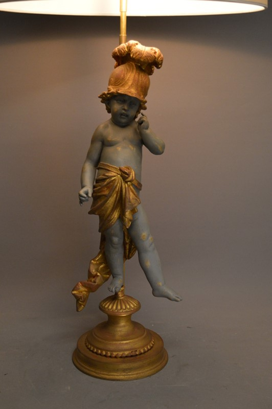 Single PUTTO figure mounted as lamp-empel-collections-putto-001-main-636830778608682471.JPG