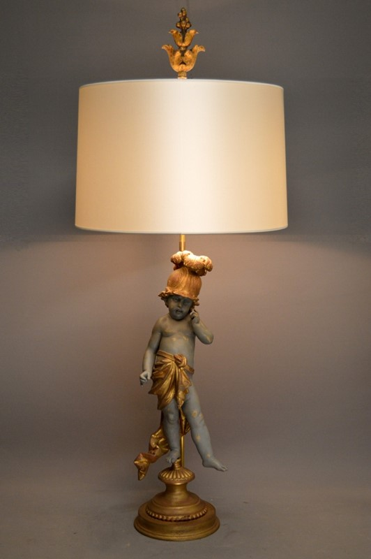 Single PUTTO figure mounted as lamp-empel-collections-putto-002-main-636830790093268930.JPG