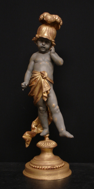 Antique PUTTO furniture fragment as décor or lamp-empel-collections-putto.12 035_main.jpg