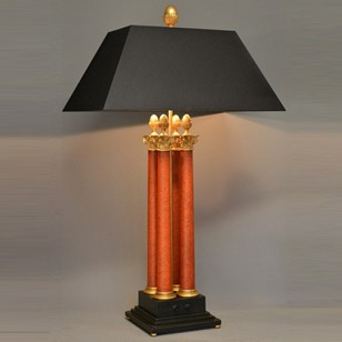 Bespoke Corinthian table / desk lamp