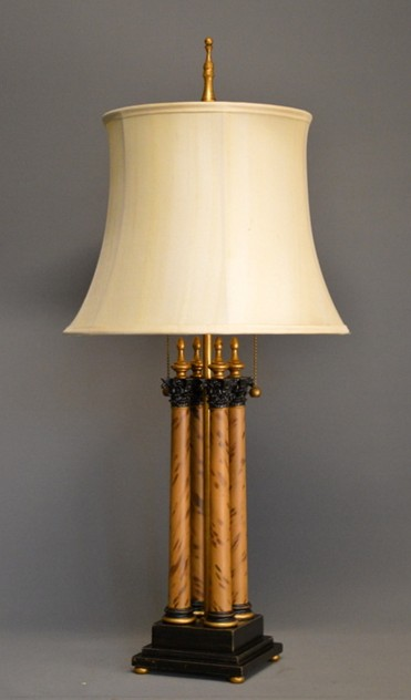 Bespoke four column Corinthian table lamp-empel-collections-quadruple small-001_main_636420405373896002.JPG