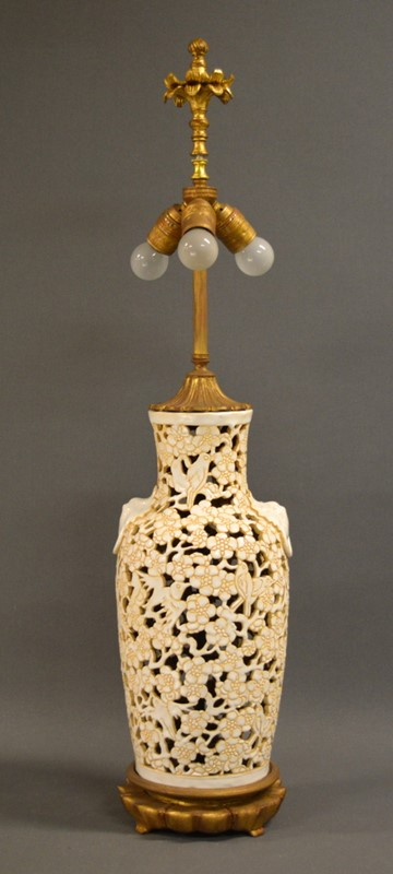 Chic American Mid century Chinoiserie lamp-empel-collections-single-vintage-fretwork-chinoiserie-table-lamp-003-main-637394084825918154.JPG