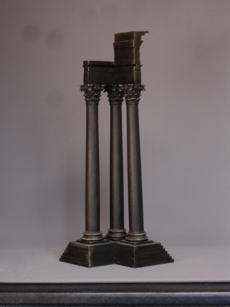 Castor and Pollux temple, three column miniature.-empel-collections-temple apollo 16-9-2014 17-03-11_main.JPG