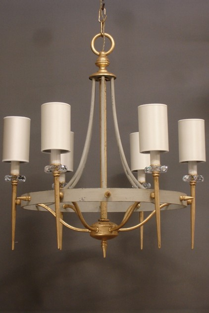 2x vintage chic grey and gilt iron  chandelier-empel-collections-vintage chandelier-002_main.JPG