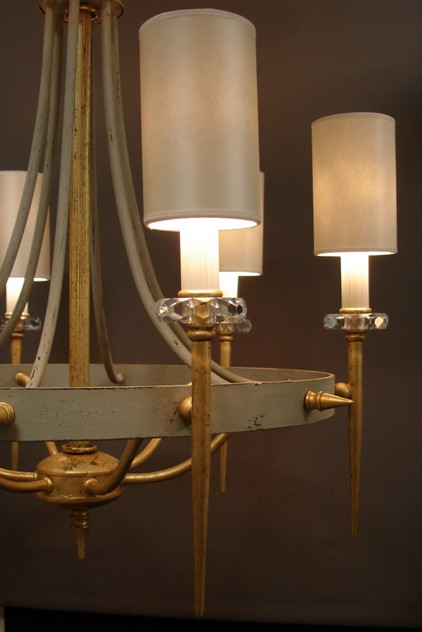2x vintage chic grey and gilt iron  chandelier-empel-collections-vintage chandelier-004_main.JPG