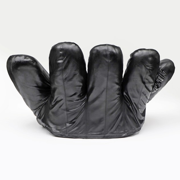 1970s Black Leather Joe Baseball Glove Chair-fears-and-kahn-Black Joe Chair 5_main_636377324973618253.jpg