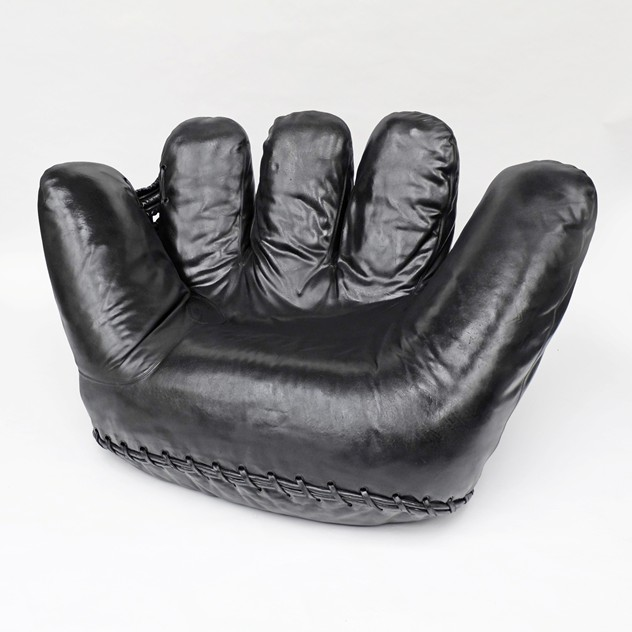 1970s Black Leather Joe Baseball Glove Chair-fears-and-kahn-Black Joe Chair 8_main_636377324450994803.jpg