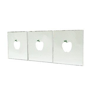 Set of 3 1970s Apple Mirrors by Ringo Starr