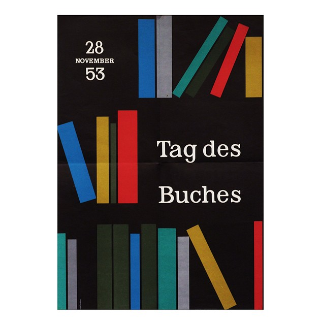 1950's German Book Day Poster Pop Art Design-fears-and-kahn-bookday poster_main.jpg