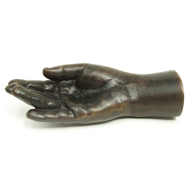 Bronze Hand Sculpture by British Artist K Braine-fears-and-kahn-brainehand_main_635951069468535696.jpg