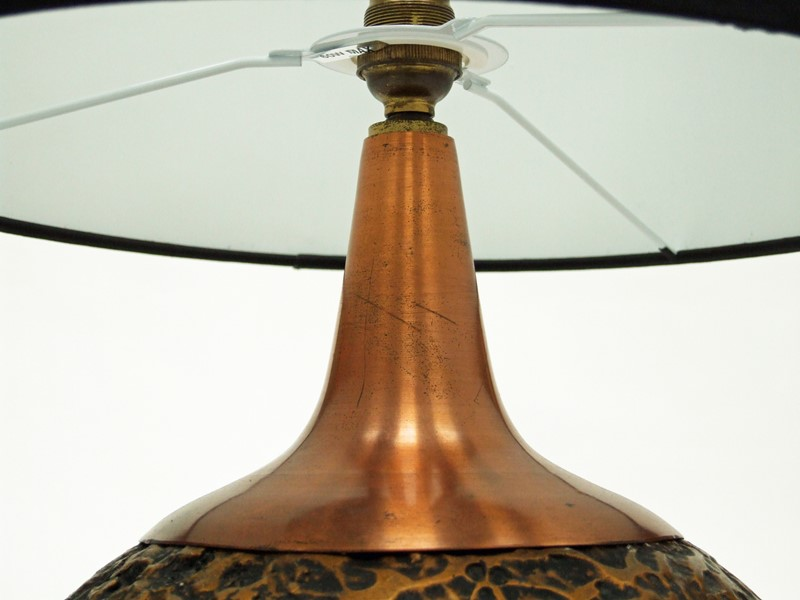 1960s Textured Copper Table Lamp-fears-and-kahn-brasslamp-4-main-637165735215909448.jpg