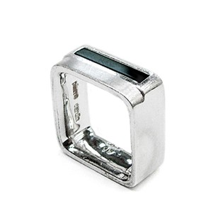 1970s Pierre Cardin Silver Ring (mens)