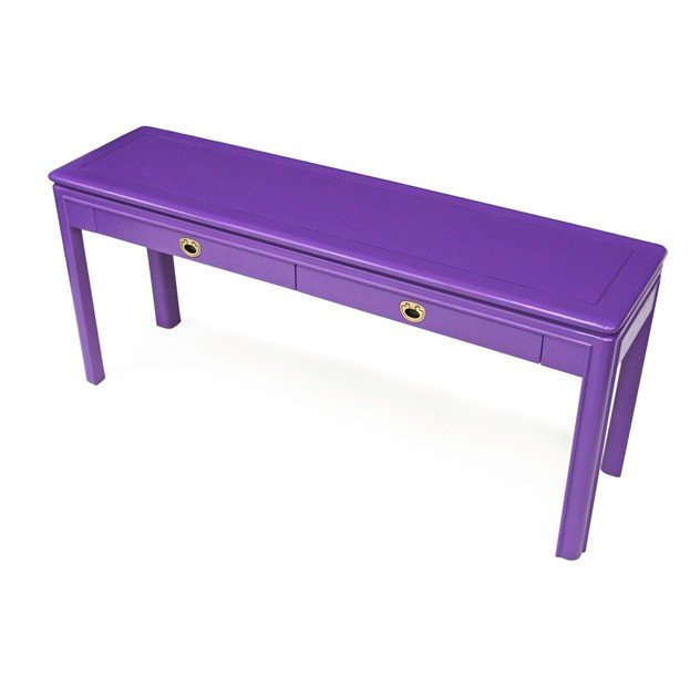 1970's Purple Delray Console Table Brass Handles-fears-and-kahn-delray-1_main_636207801327733056.jpg