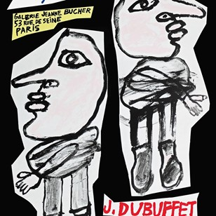 Dubuffet '82 Exhibition Poster