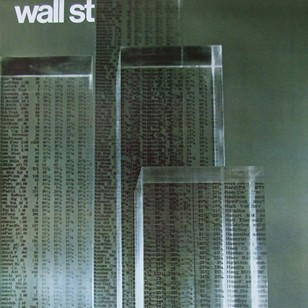 1960s Wall Street New York Art Poster