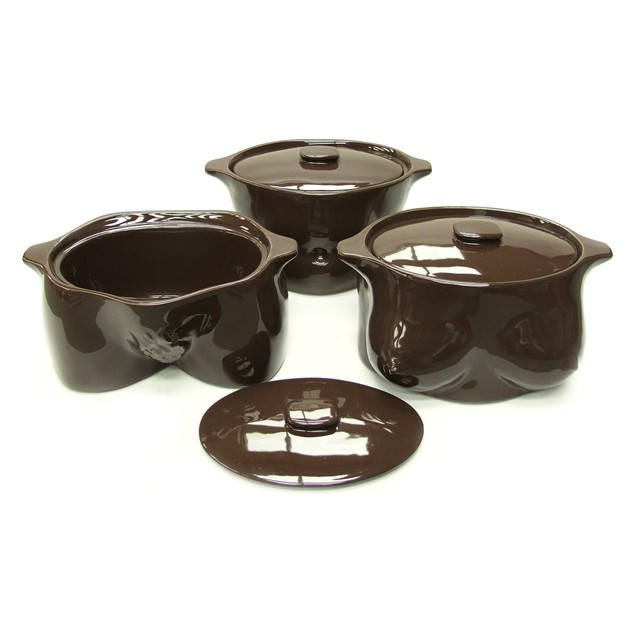 1970s Sculptural Flesh Pots Casserole Set-fears-and-kahn-fleshpots2_main_636033085462822467.jpg